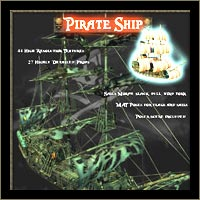 Pirate Ship 2 - Extended License 3D Models Extended Licenses LukeA