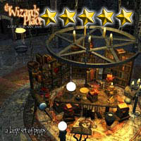 The Wizards Place - Extended License 3D Models Gaming Extended Licenses LukeA