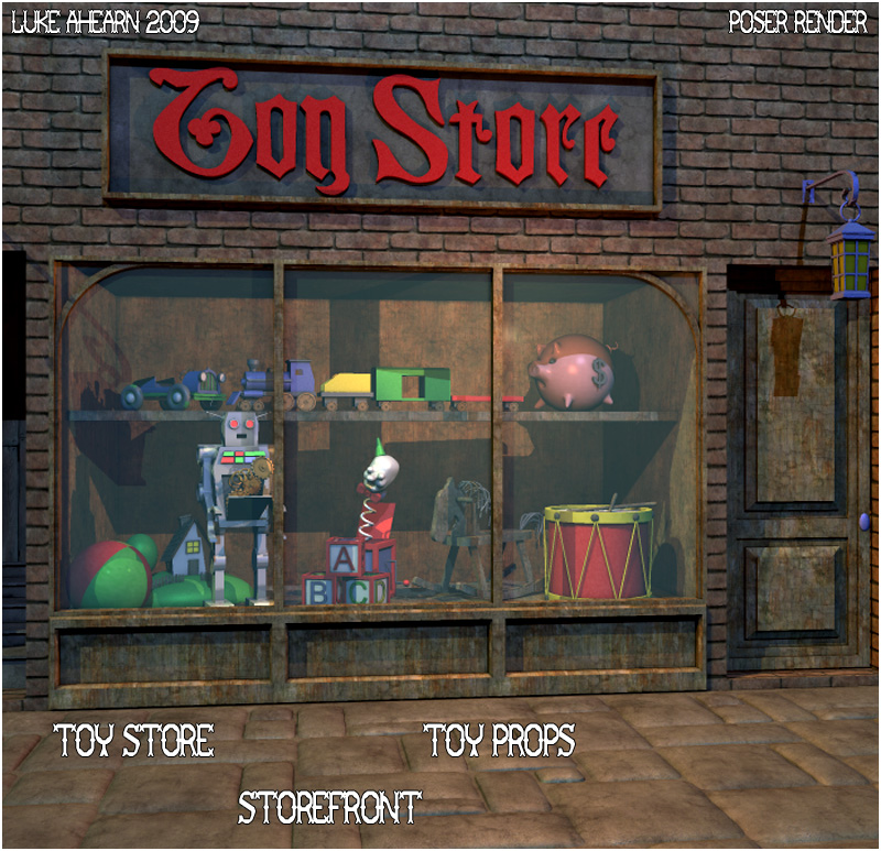 Toy Store - Extended License