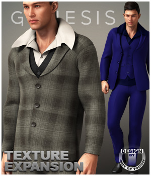Formal Wardrobe XPansion 3D Figure Assets outoftouch