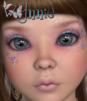 MDD Wynnie for V4.2 3D Figure Assets Maddelirium