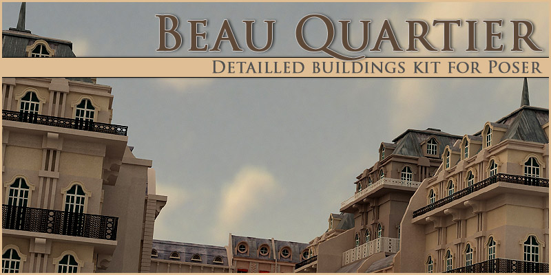 Beau Quartier - Extended License by powerage