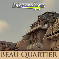 Beau Quartier - Extended License Gaming 3D Models powerage