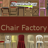 Chair Factory - Extended License 3D Models powerage