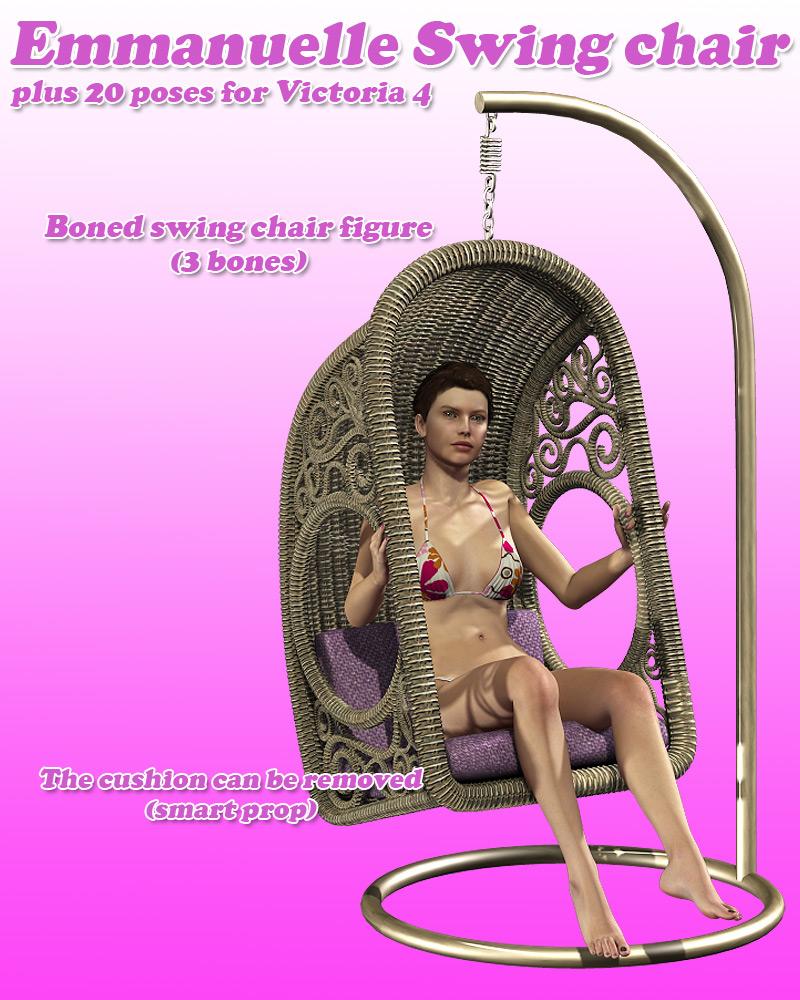 Emmanuelle Swing Chair - Extended License