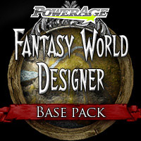 Fantasy World Designer Base - Extended License 3D Models Extended Licenses powerage