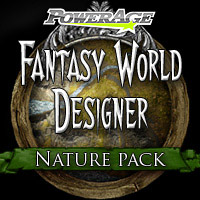 Fantasy World Designer Nature - Extended License 3D Models Extended Licenses powerage