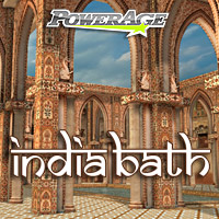 India Bath - Extended License 3D Models Gaming powerage
