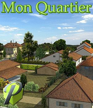 Mon Quartier - Extended License 3D Models Gaming Extended Licenses powerage