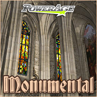 Monumental - Extended License 3D Models 3D Figure Assets Extended Licenses powerage