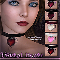 SV Twisted Heart Chokers - Extended License image 2