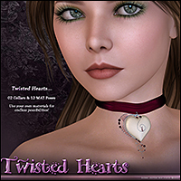 SV Twisted Heart Chokers - Extended License image 4