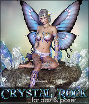 SV's Crystal Rock - Extended License 3D Models Extended Licenses Sveva