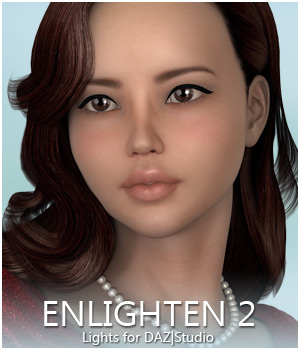Sabby-Enlighten II: Lights for DAZ Studio 3D Lighting : Cameras Sabby