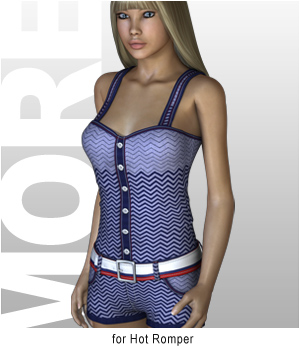 MORE Textures & Styles for Hot Romper 3D Figure Essentials motif