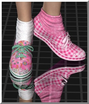AM: StepBYStep - 30 Styles for Fads-Sneakers 3D Figure Essentials Angelmoon