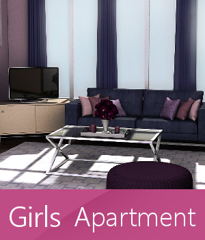 Girls Apartment 3D Models TruForm
