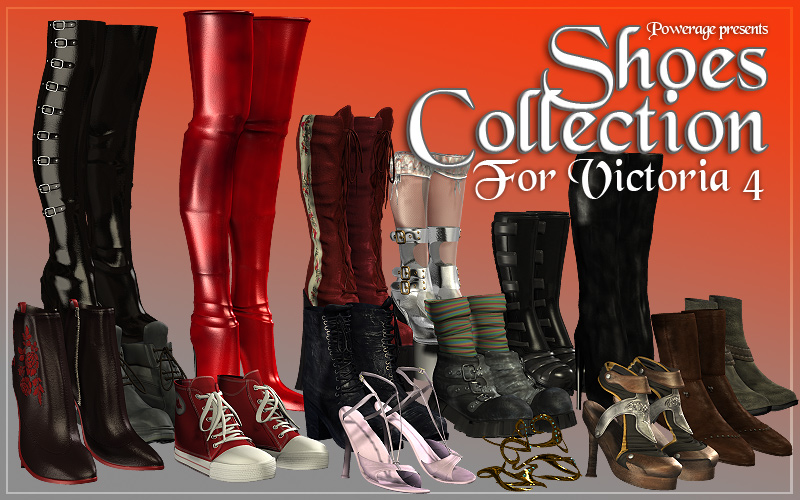 Powerage's Shoes Collection - Extended License