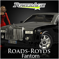 Roads-Royds | Fantom - Extended License 3D Figure Assets 3D Models Extended Licenses powerage