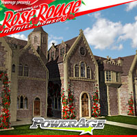 Rose Rouge Pack 1 - Extended License 3D Models Extended Licenses powerage