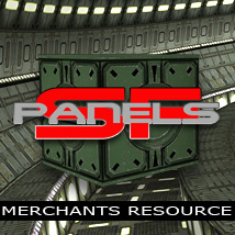 SF panels merchants resource - Extended License 2D Graphics 3D Models powerage