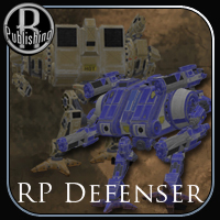 Defenser for Poser - Extended License 3D Models Gaming RPublishing