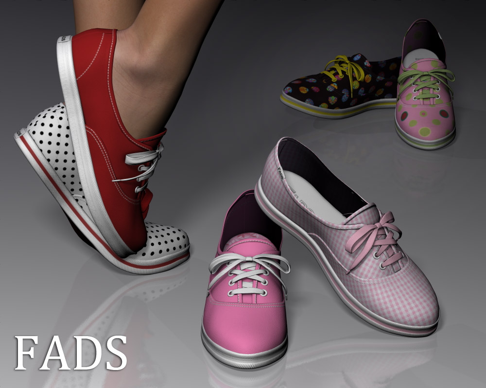 Fads Sneaker Shoes - Extended License