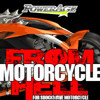 Motorcycle FROM HELL - Extended License 3D Models Extended Licenses powerage
