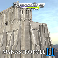 Mynastropole 2 - Extended License Gaming 3D Models powerage