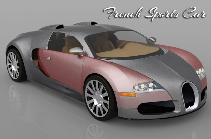 French Sports Car - Extended License