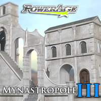 Mynastropole 3 - Extended License 3D Models Extended Licenses powerage