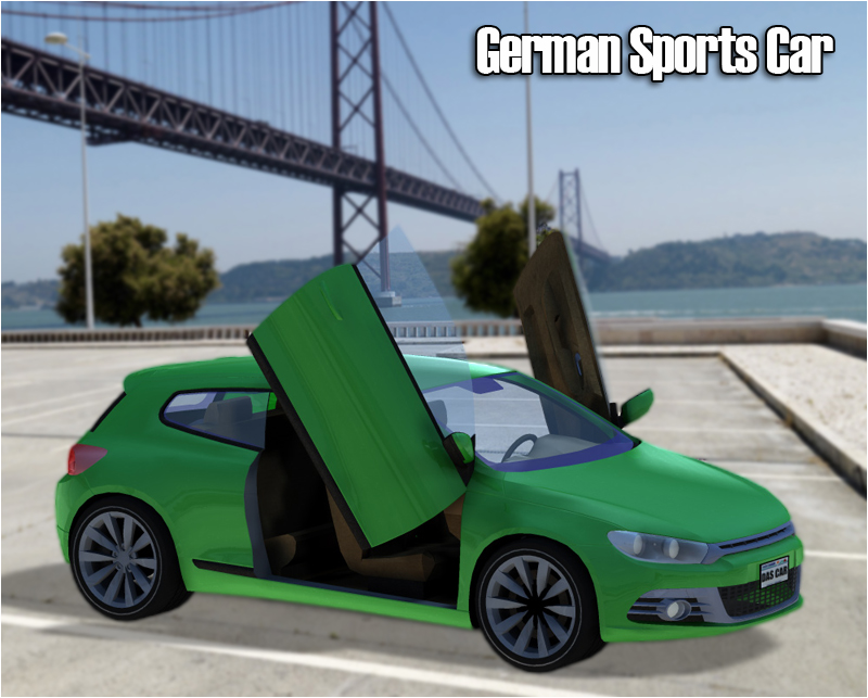 German Sports Car - Extended License
