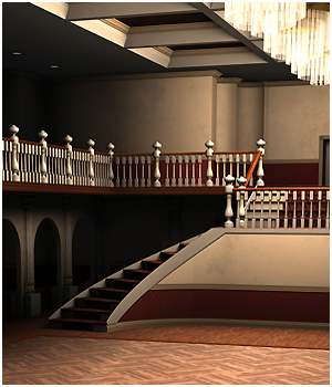 Grand Ballroom - Extended License 3D Models Extended Licenses RPublishing