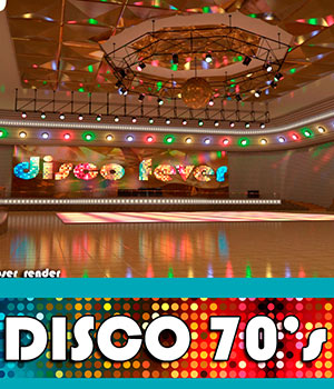 AJ Disco 70's - Extended License 3D Models Gaming -AppleJack-