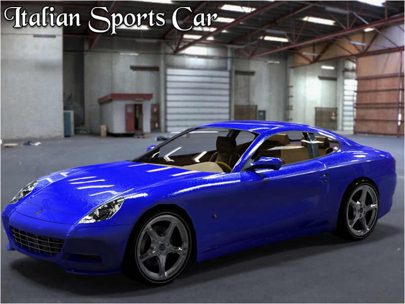 Italian Sports Car - Extended License