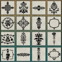 VICTORIAN Brushes & Png Files Pack image 2