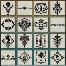 VICTORIAN Brushes & Png Files Pack image 3
