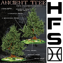 HFS Environments: Ancient Tree - Extended License image 5