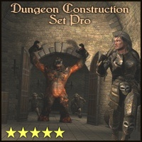 Dungeon Construction Set Pro - Extended License 3D Models Gaming 3-d-c