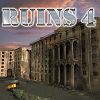 Ruins 4 - Extended License 3D Models Extended Licenses -AppleJack-