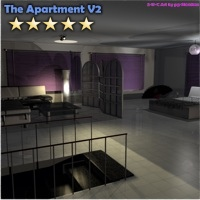 Stylish Apartment - Extended License 3D Models Extended Licenses 3-d-c