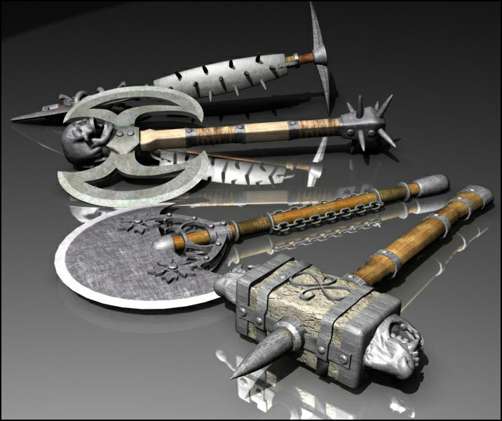 Fantasy Weapons 2 - Extended License