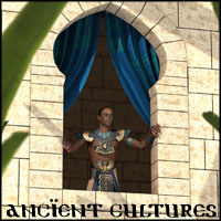 Ancient Cultures Set - Extended License 3D Models Gaming 3-d-c