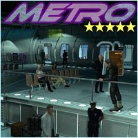 SciFi Metro - Extended License 3D Figure Essentials 3D Models Gaming 3-d-c