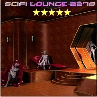SciFi Lounge 2270 - Extended License 3D Models 3D Figure Essentials Gaming 3-d-c