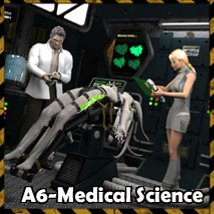 Ship Elements A6: Medical Science - Extended License 3D Figure Assets 3D Models Extended Licenses 3-d-c