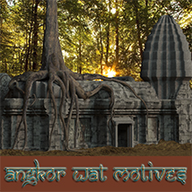AJ_Angkor_Wat_Motives - Extended License 3D Models -AppleJack-