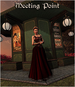 Meeting Point - Extended License 3D Figure Essentials 3D Models Gaming RPublishing