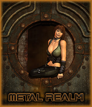 Metal Realm - Extended License 3D Models 3D Figure Assets Extended Licenses RPublishing