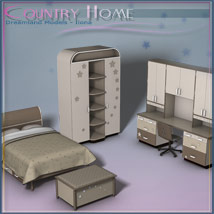 Country Home, Kids Bedroom image 1